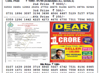 Lottery Sambad Morning 11 AM Result 23-11-2020